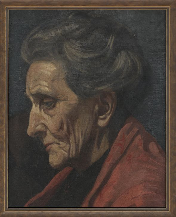 Agnes Wylie Sivell, mother of the artist