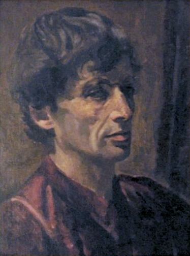 Self-portrait of the artist as a young man